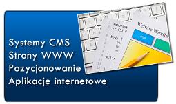 Strony WWW, CMS, Aplikacje internetowe